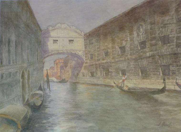007 Венеция. Мост вздохов
