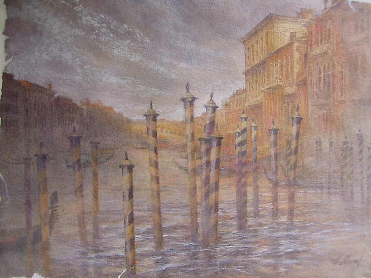 001 Венеция. Вечер