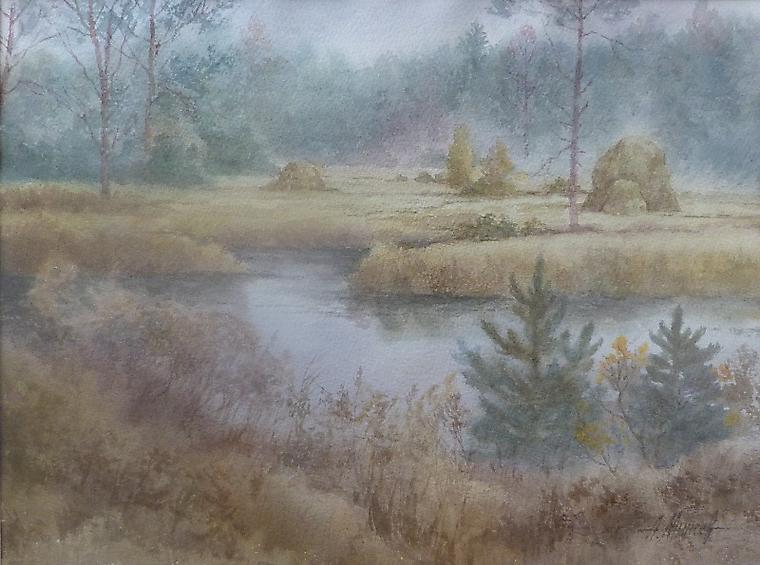 034  Утро туманное