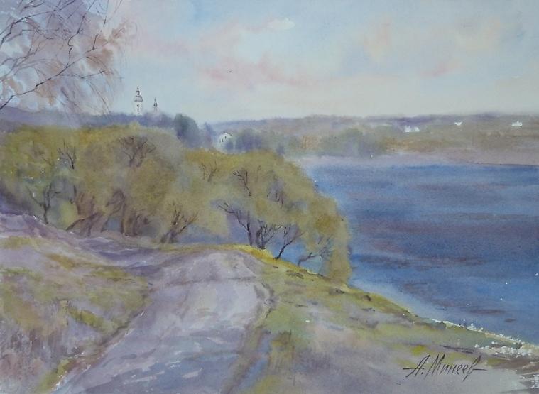 096 Таруса. Вид на реку Оку