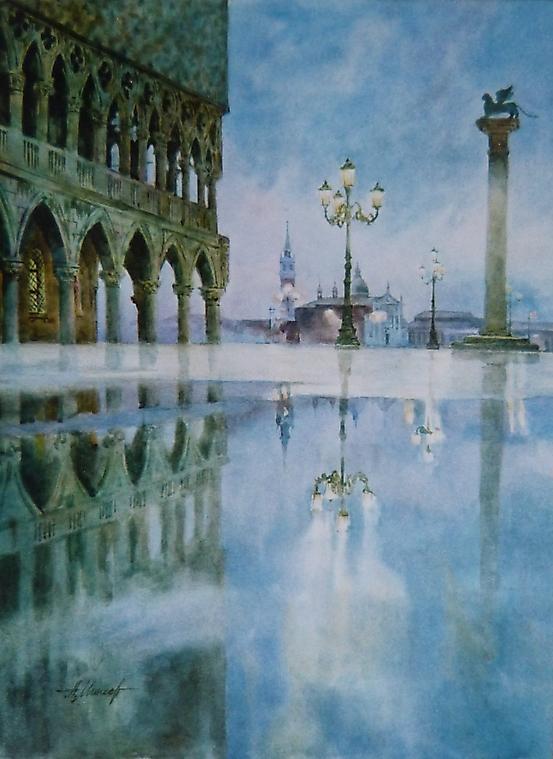 015 Венеция. Ночь