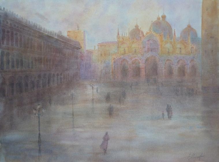 008 Венеция. Площадь Сан Марко