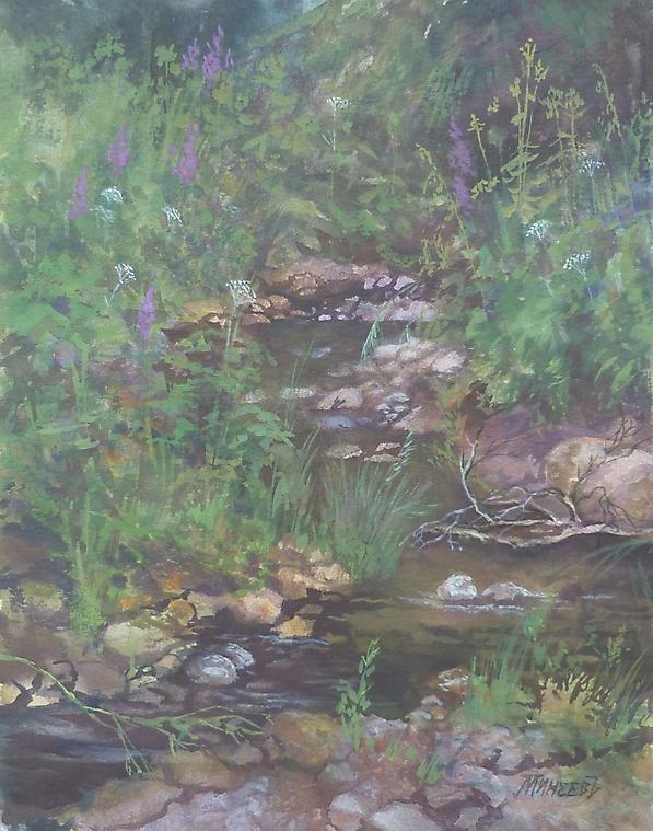 058 Лесной ручей