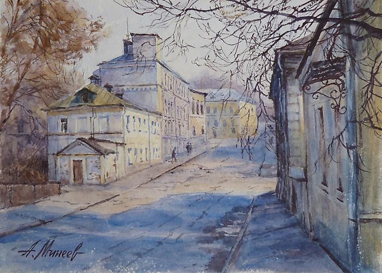 079 Улица в Москве