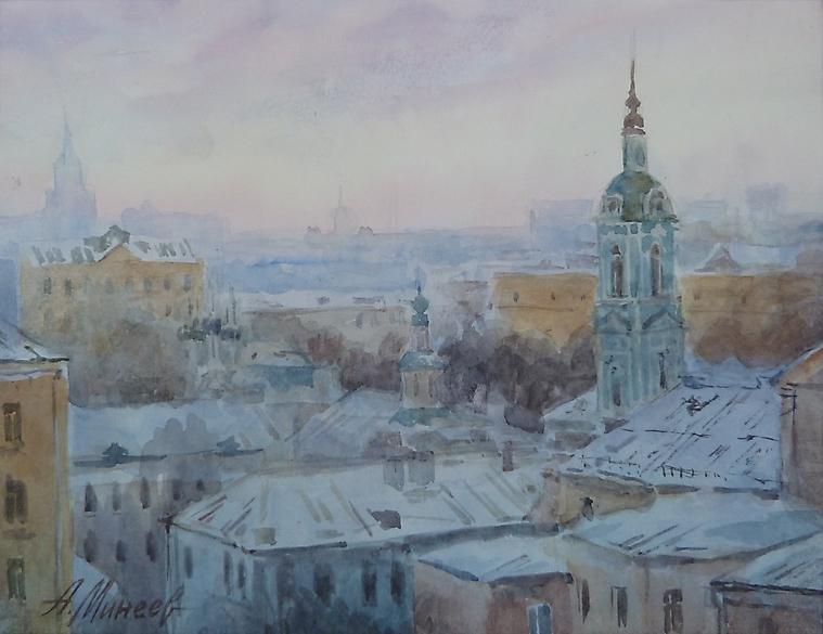 080 Крыши. Москва