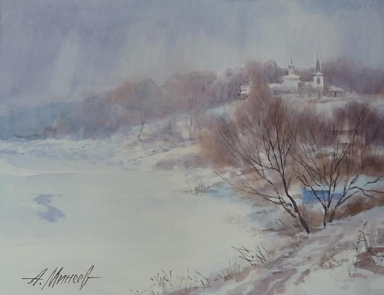 083 Таруса. Зима