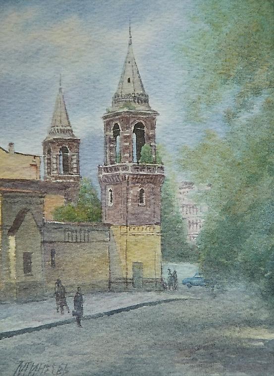027 Москва. Ивановский монастырь.