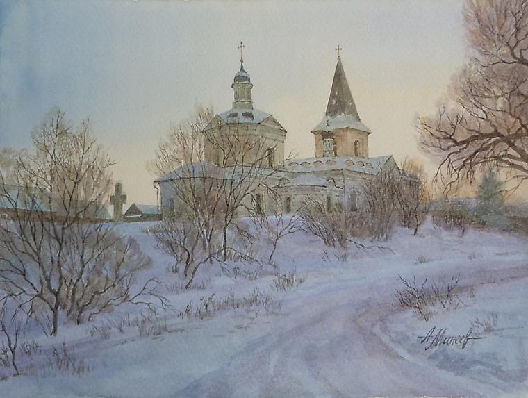 084 Таруса. Церковь Воскресения