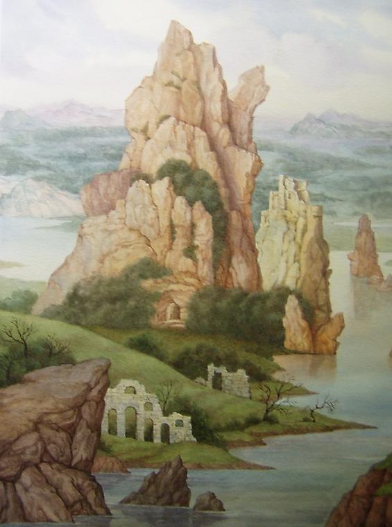 047 Романтический пейзаж 1