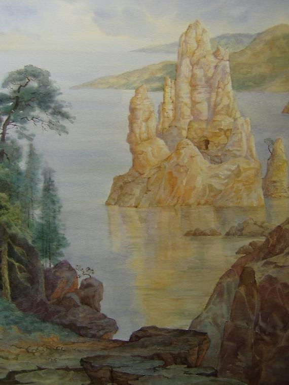 048 Романтический пейзаж 2