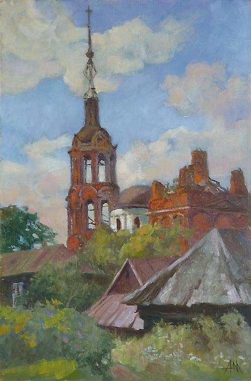 070 Заозерье. Церковь Казанской Божьей Матери