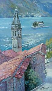041 Черногория. Вид на залив