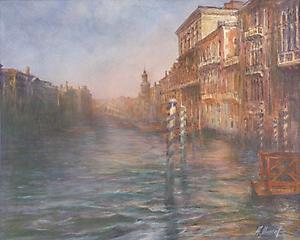 011 Венеция. Вечер