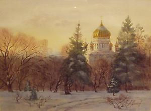 023 Москва. Храм Христа Спасителя