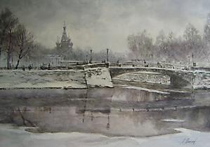 024  С.-Петербург. Зима