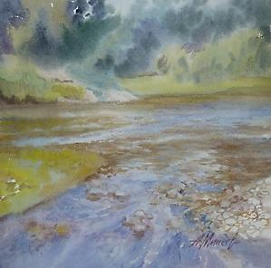095 Река Таруска. На перекате