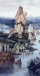044 Пейзаж с руинами в стиле старых мастеров 2