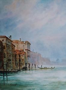 016 Венеция. Легкий туман