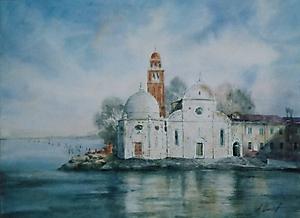 017 Венеция. Перед грозой