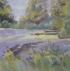 087 Заросший пруд