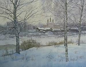 025 Великий Устюг. Зима