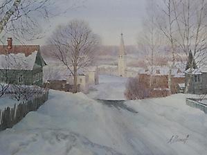 026 Зима в Гороховце.
