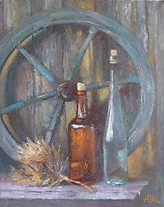 031 Натюрморт с колесом, которое не доехало до Москвы. Кратово