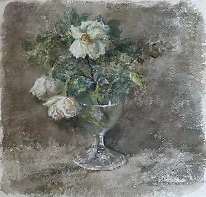 034 Натюрморт с дикой розой