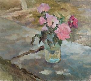 032 Натюрморт с розами