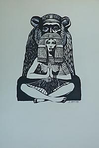027 Иллюстрация к сборнику западной поэзии