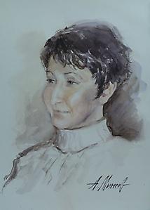 012 Портрет жены
