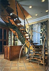 009 Роспись лестницы