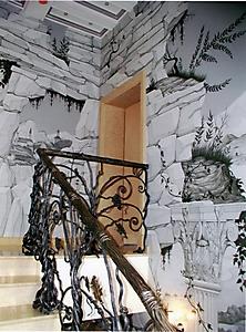 002 Руины. Роспись стен