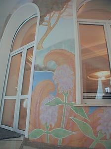 021 Роспись стен в стиле Ар-дек