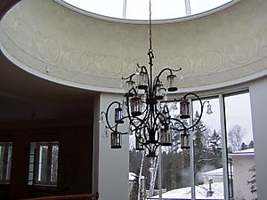 032 Орнаментальная роспись купола