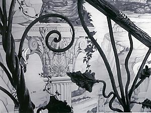008 Руины. Роспись стен