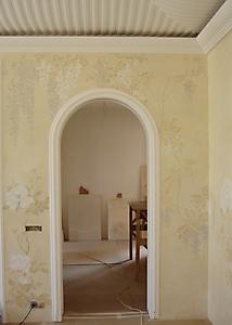 036 Роспись стен спальни